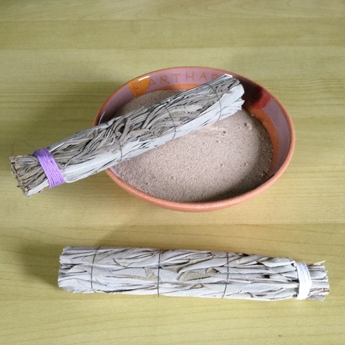 Kit - 2 x Smudge Sticks & Bowl